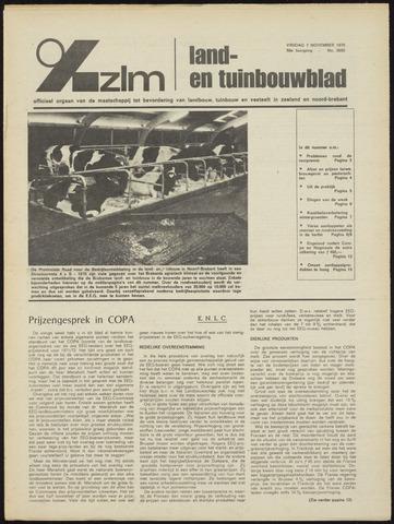 Zeeuwsch landbouwblad ... ZLM land- en tuinbouwblad 1970-11-07