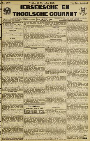 Ierseksche en Thoolsche Courant 1923-11-23