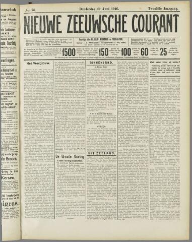 Nieuwe Zeeuwsche Courant 1916-06-22