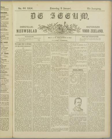 De Zeeuw. Christelijk-historisch nieuwsblad voor Zeeland 1904-01-09