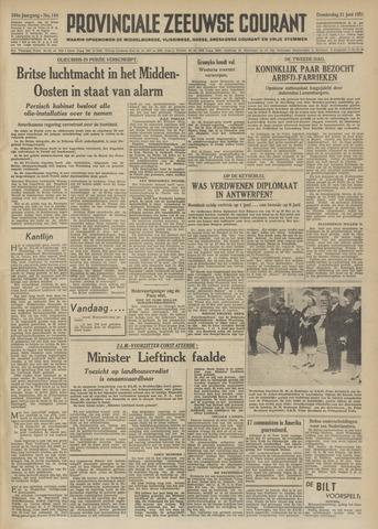 Provinciale Zeeuwse Courant 1951-06-21