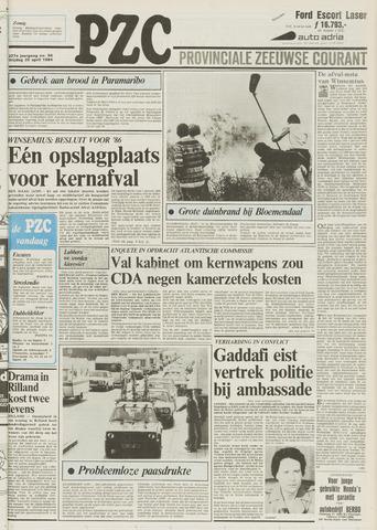 Provinciale Zeeuwse Courant 1984-04-20