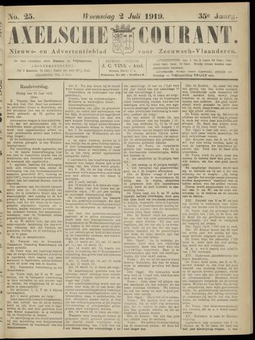 Axelsche Courant 1919-07-02