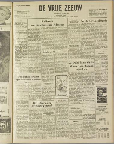 de Vrije Zeeuw 1959-04-09