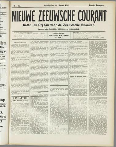 Nieuwe Zeeuwsche Courant 1905-03-16