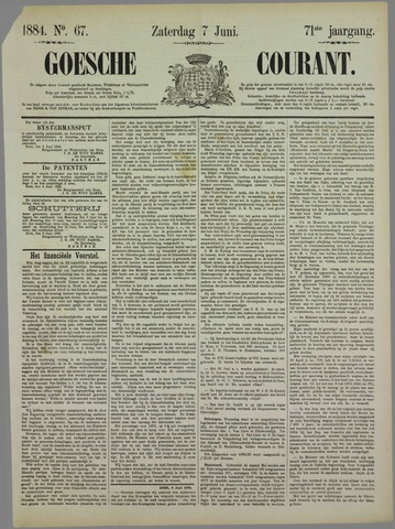 Goessche Courant 1884-06-07
