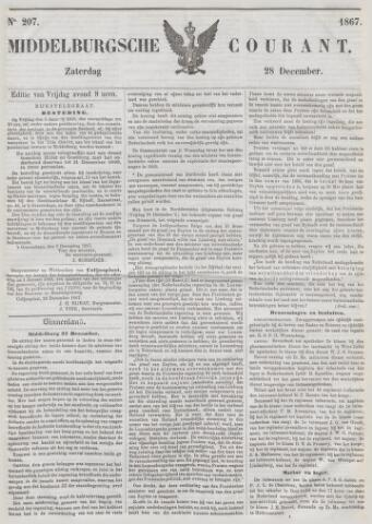 Middelburgsche Courant 1867-12-28
