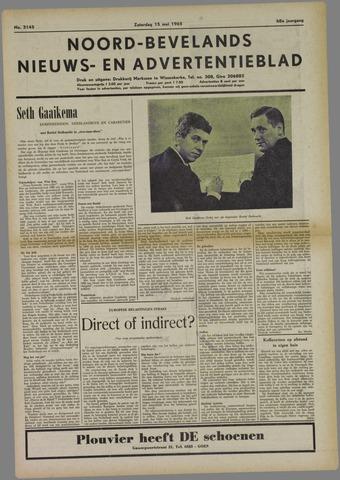 Noord-Bevelands Nieuws- en advertentieblad 1965-05-15