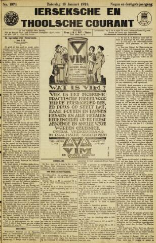 Ierseksche en Thoolsche Courant 1923-01-13