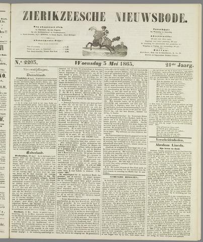 Zierikzeesche Nieuwsbode 1865-05-03