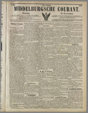 Middelburgsche Courant 1903-11-10