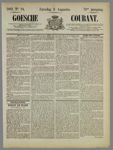 Goessche Courant 1883-08-11