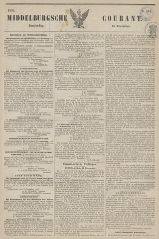 Middelburgsche Courant 1852-12-16