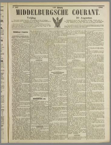 Middelburgsche Courant 1906-08-10
