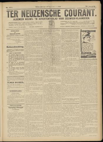 Ter Neuzensche Courant. Algemeen Nieuws- en Advertentieblad voor Zeeuwsch-Vlaanderen / Neuzensche Courant ... (idem) / (Algemeen) nieuws en advertentieblad voor Zeeuwsch-Vlaanderen 1930-10-15