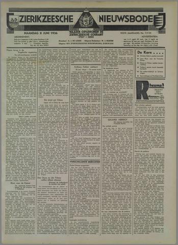 Zierikzeesche Nieuwsbode 1936-06-08