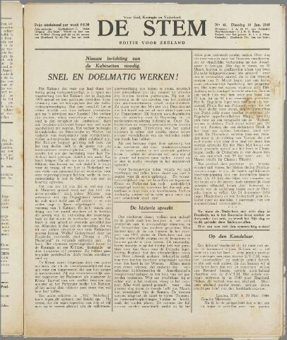 de Stem 1945-01-16