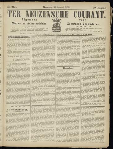 Ter Neuzensche Courant. Algemeen Nieuws- en Advertentieblad voor Zeeuwsch-Vlaanderen / Neuzensche Courant ... (idem) / (Algemeen) nieuws en advertentieblad voor Zeeuwsch-Vlaanderen 1889-01-30