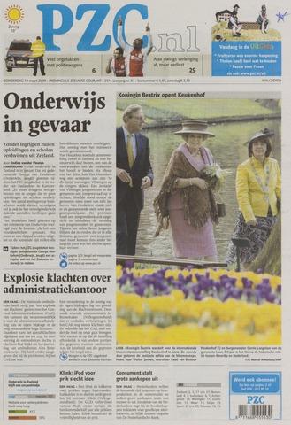 Provinciale Zeeuwse Courant 2009-03-19