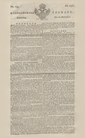 Middelburgsche Courant 1761-11-19