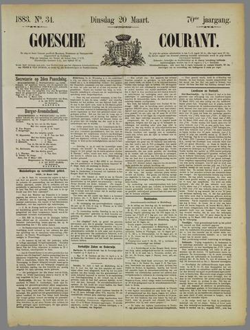 Goessche Courant 1883-03-20