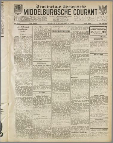 Middelburgsche Courant 1930-11-07