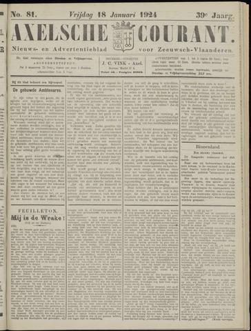 Axelsche Courant 1924-01-18