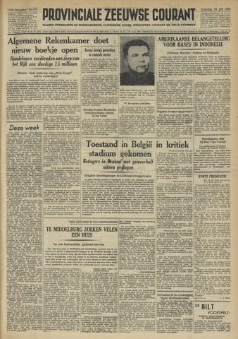 Provinciale Zeeuwse Courant 1950-07-29