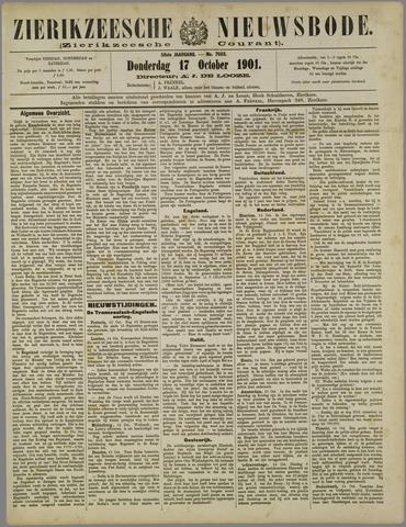 Zierikzeesche Nieuwsbode 1901-10-17
