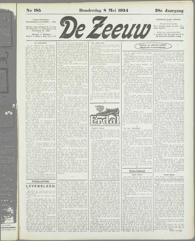 De Zeeuw. Christelijk-historisch nieuwsblad voor Zeeland 1924-05-08