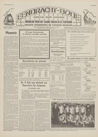 Eendrachtbode (1945-heden)/Mededeelingenblad voor het eiland Tholen (1944/45) 1969-03-27