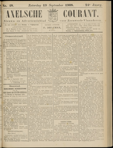 Axelsche Courant 1908-09-19