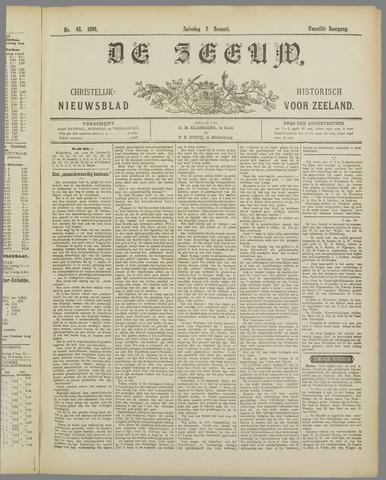 De Zeeuw. Christelijk-historisch nieuwsblad voor Zeeland 1898-01-08