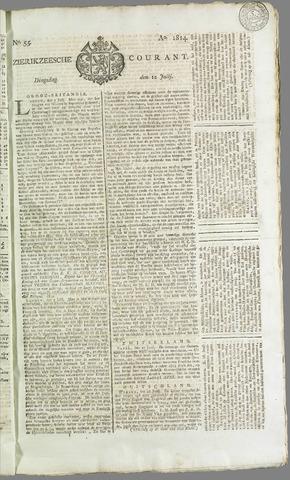 Zierikzeesche Courant 1814-07-12
