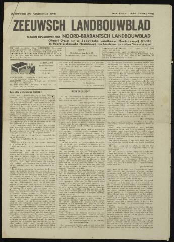 Zeeuwsch landbouwblad ... ZLM land- en tuinbouwblad 1941-08-30