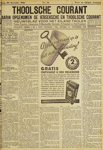 Ierseksche en Thoolsche Courant 1935-12-20
