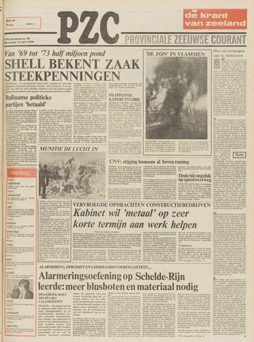 Provinciale Zeeuwse Courant 1976-04-14