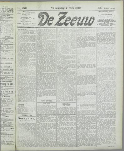 De Zeeuw. Christelijk-historisch nieuwsblad voor Zeeland 1919-05-07