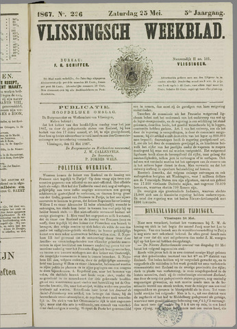 Vlissings Weekblad 1867-05-25