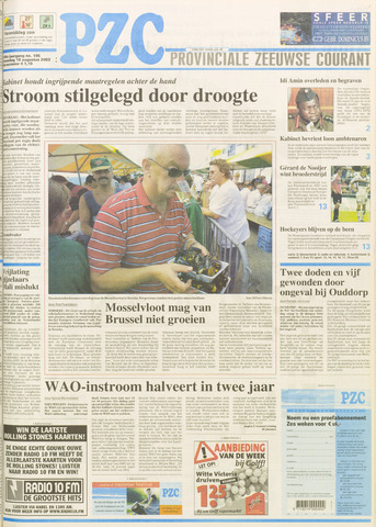 Provinciale Zeeuwse Courant 2003-08-18
