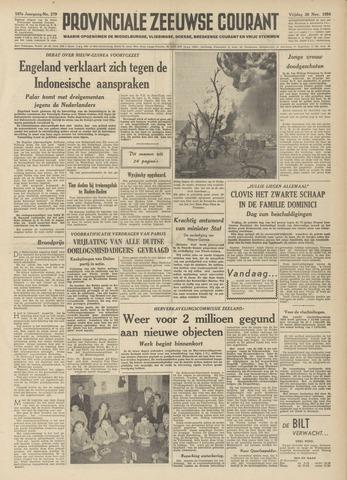 Provinciale Zeeuwse Courant 1954-11-26