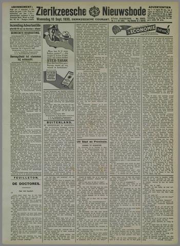 Zierikzeesche Nieuwsbode 1930-09-10