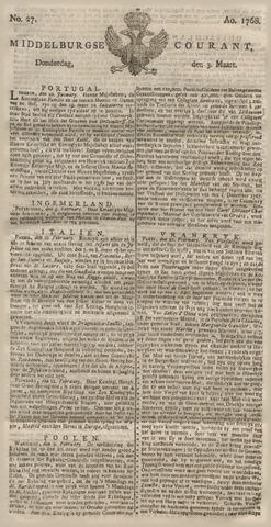 Middelburgsche Courant 1768-03-03