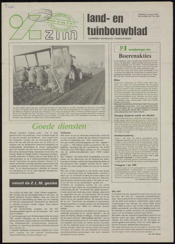 Zeeuwsch landbouwblad ... ZLM land- en tuinbouwblad 1990-03-16