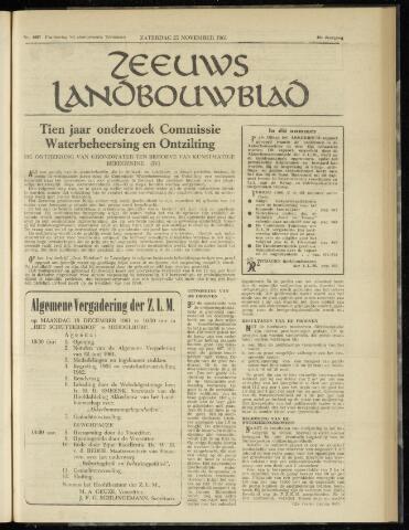 Zeeuwsch landbouwblad ... ZLM land- en tuinbouwblad 1961-11-25