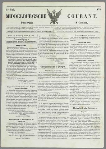 Middelburgsche Courant 1855-10-18
