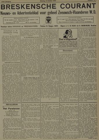 Breskensche Courant 1935-10-15