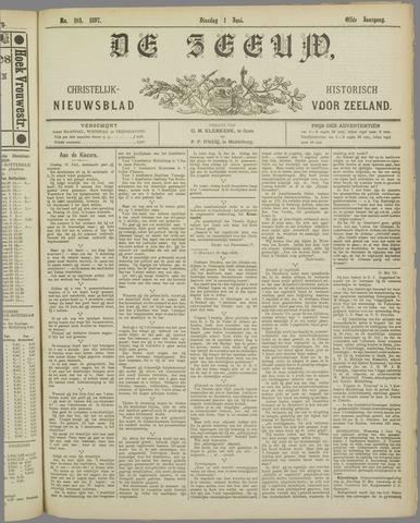 De Zeeuw. Christelijk-historisch nieuwsblad voor Zeeland 1897-06-01