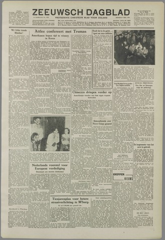 Zeeuwsch Dagblad 1950-12-05