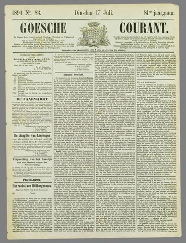 Goessche Courant 1894-07-17